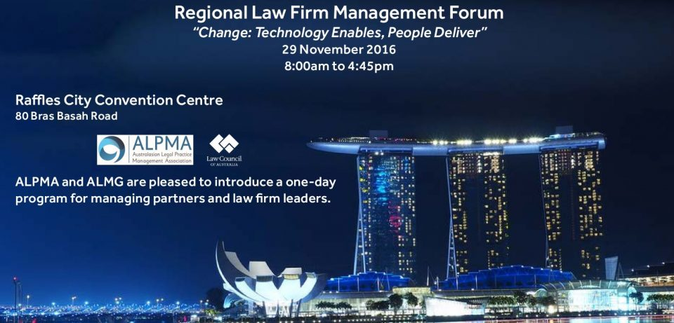 Regional law firm management forum